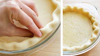 Песочное Тесто (рубленый метод)🍴Тесто для ПИРОГА + 2 изысканных пирога к вину
