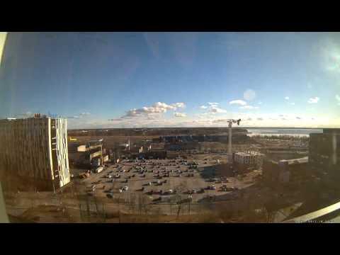 Tallinn Ülemiste City timelapse 1.03-31.03 2017