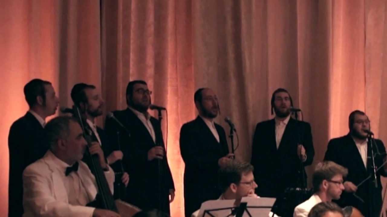 Helfgot & Shira Choir performing Kanei with Freilach Band Live!