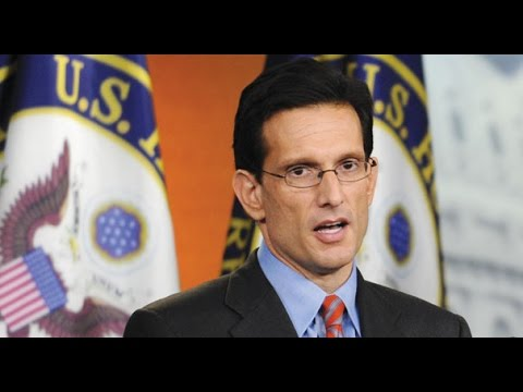 Eric Cantor Sells Out & Cashes In