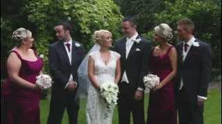 The wedding of Suzanne and Christopher Hutchinson