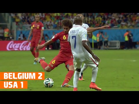 Belgium vs USA (2-1) World Cup 2014 Highlights