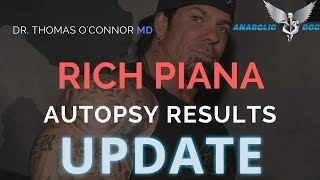 Rich Piana Autopsy Report - Update - The Anabolic Doc