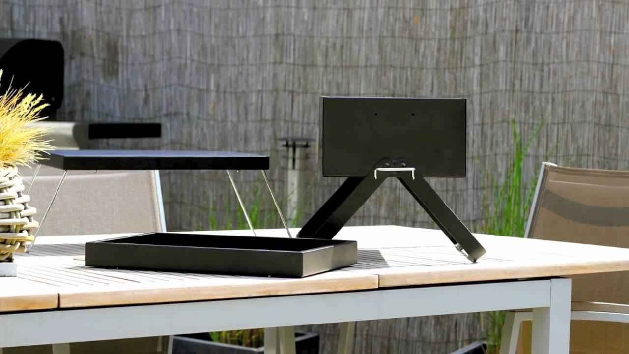 barbecue nomade quick 39 n go par cook 39 in garden youtube. Black Bedroom Furniture Sets. Home Design Ideas