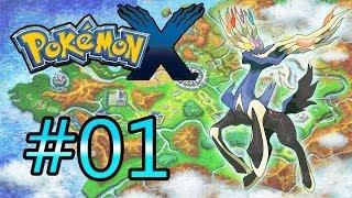 Let's Play : Pokémon X - Parte 1