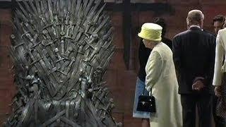Watch: Queen Elizabeth visits