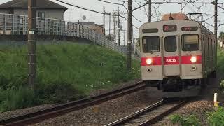つくし野→長津田を行く東急8500系(8632F)