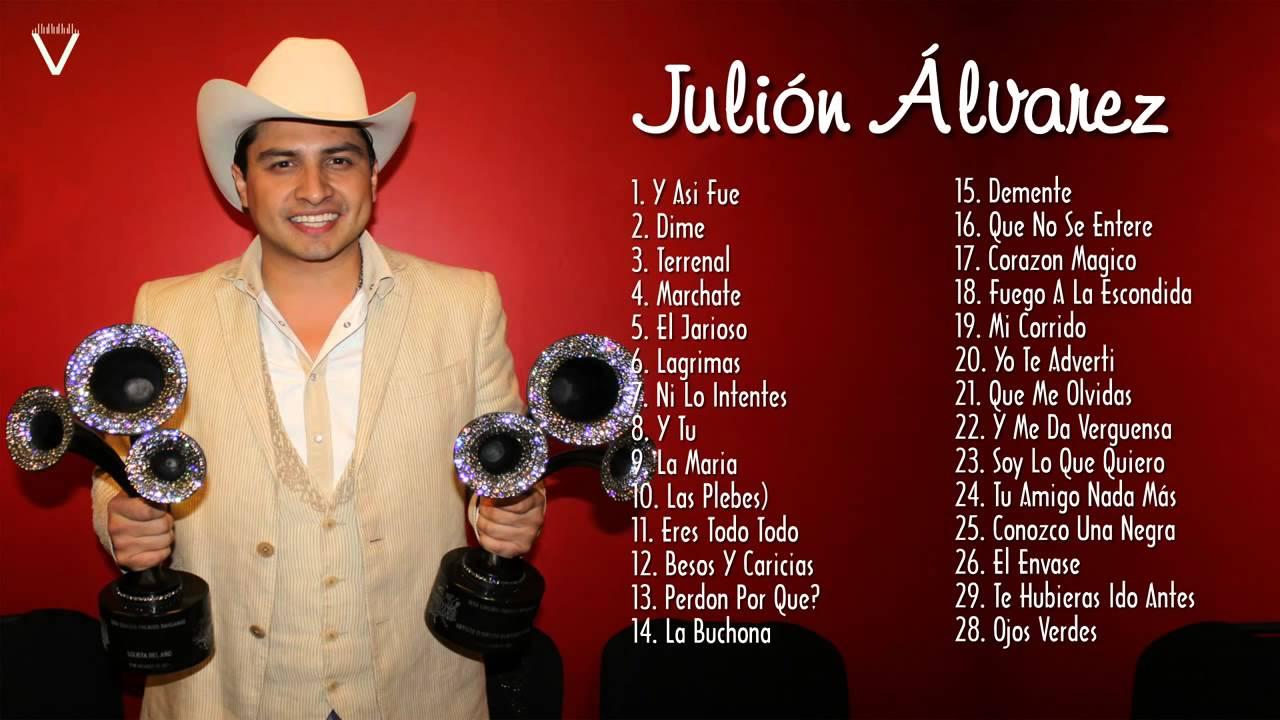 cancion besos y caricias julion alvarez