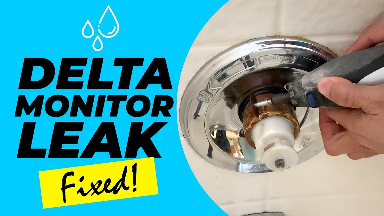 Shower Stuck Handle Faucet Leak Fix