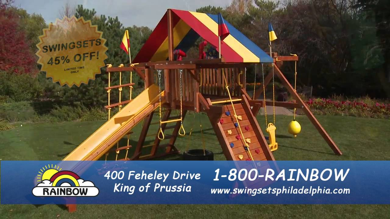 Rainbow Swingsets Commercial Youtube