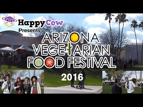 Arizona Vegetarian Food Festival 2016 / Interviews by Ken Spector