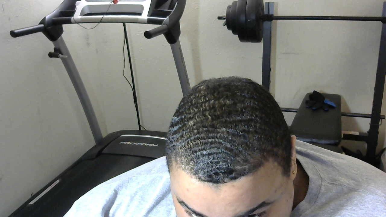hair cut update i have 3 cowlicks aka spiral 360 wave
