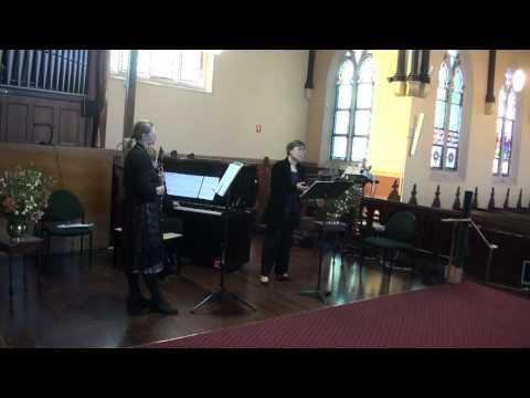 ah, non credea mirarti by Bellini with clarinet obbligato