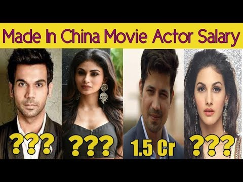 Shocking Salary Of Made In China Movie Starcast | Rajkumar Rao | Mouni Roy | Boman Irani Mp3