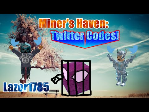 Miners Haven Twitch & Twitter CODES (OCTOBER 2016) (CODES IN DESC) (UPDATED)