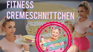 FITNESS CREMESCHNITTCHEN - BESTES REZEPT DER WELT! Schmeckt sogar Gudrun und Gertrud!