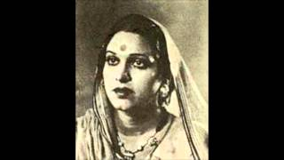 AMEER BAI - a rare collection -24 - Yeh rang barangi dor - film Mazdoor 1945.wmv