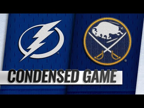 01/12/19 Condensed Game: Lightning @ Sabres