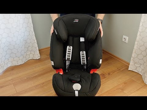 Britax Römer Evolva 1-2-3 PLUS REVIEW & TEST // Kindersitz 9-36 Kg // DEUTSCH