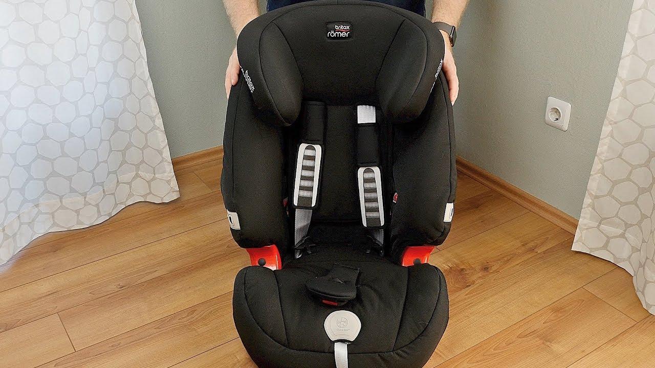 Britax Romer Evolva 1 2 3 Plus Review Test Kindersitz 9 36 Kg Deutsch Youtube