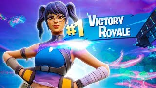 VICTORIA MAGISTRAL with the SKIN CRYSTAL FORTNITE Battle Royale
