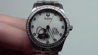 bulova bva series automatic women s watch model 96r122