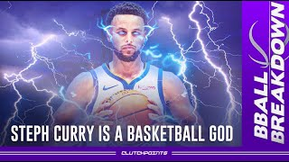 Stephen Curry Is A BASKETBALL GOD