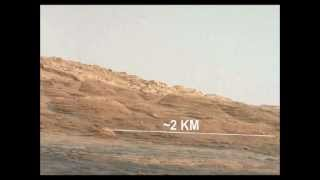 ANOTHER UFO WATCHING THE MARS ROVER CURIOSITY -  GABRIEL CORBAN FAMILY