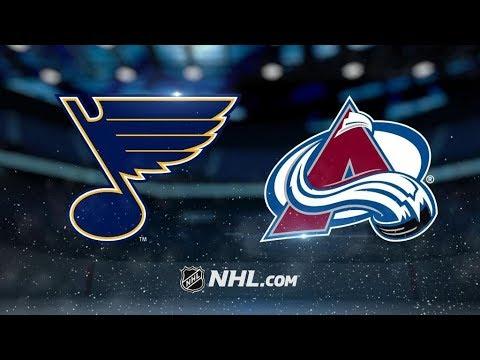 St. Louis Blues Vs. Colorado Avalanche | NHL Game Recap | October 19, 2017 | HD