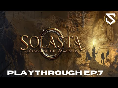 Solnnix plays Solasta: Crown of the Magister (Early Access) EP.7  