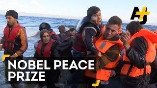 Greek Grandmother & Fisherman Nominated For Nobel Peace Prize