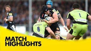 Exeter Chiefs v Northampton Saints - Aviva Premiership Rugby 2014/15