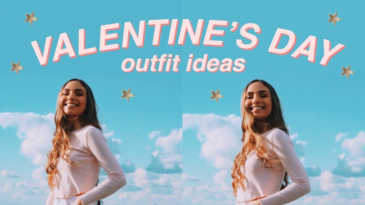 VALENTINES DAY OUTFIT IDEAS! 1