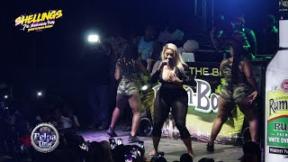 Yanique Curvy Diva HOT and sexy taking all the girls man away Performance  AT SHELLINGS   PTP