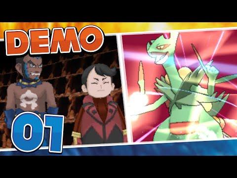 Pokémon Omega Ruby and Alpha Sapphire Demo -  Part 1 | Adventure!
