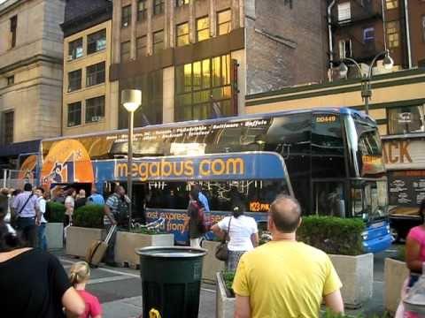 test video 4 megabus nyc to philadelphia youtube. Black Bedroom Furniture Sets. Home Design Ideas