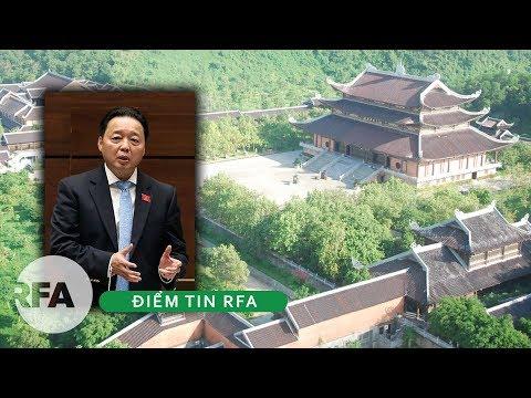 Điểm tin RFA | Bộ Tài Nguyên- Môi Trường trả lời về đất cấp xây chùa