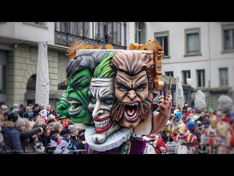 Fritschi Umzug SchmuDo 2018 - Fasnacht Luzerne - Lucerne Carnival