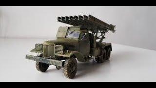 БМ-13 ''Катюша''(Zvezda) 35 scale...фототчет