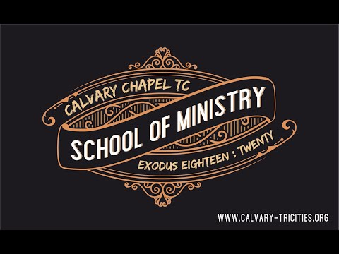 Calvary Chapel School of Ministry Ad
