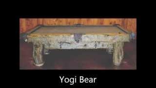 Log Cabin Pool Tables