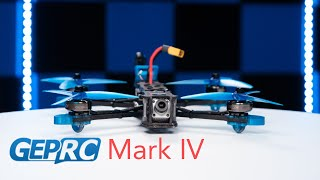 Drone Review - GEPRC Mark IV Quad - FPV Smoothness!