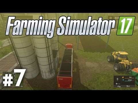 Farming Simulator 17: Earning Money With Crops - Part 7 (Gameplay / Walkthrough / Lets Play)
