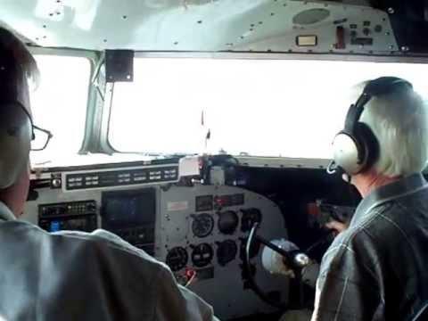 Larry Gross Flying the DC3