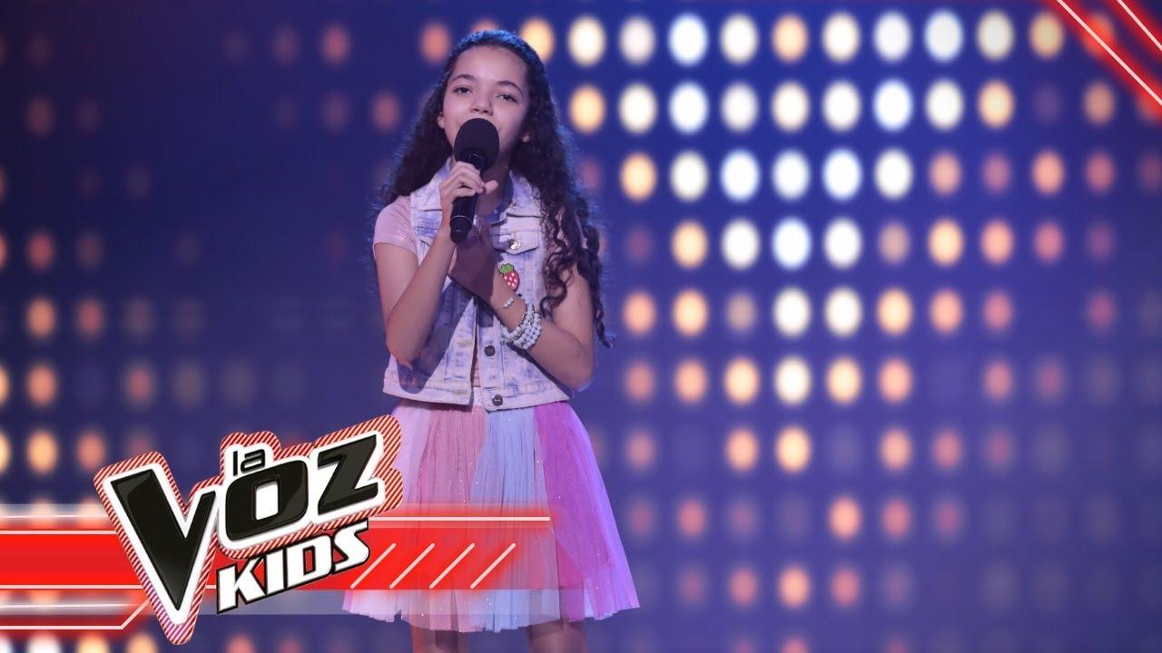 María Victoria canta 'Chocolate' | La Voz Kids Colombia 2021