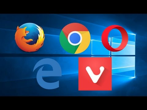 Best Browsers for Windows! (Dec 2016)