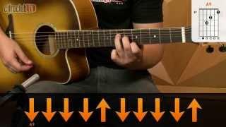 Apenas Uma Canção de Amor - Rosa de Saron (aula de violão)