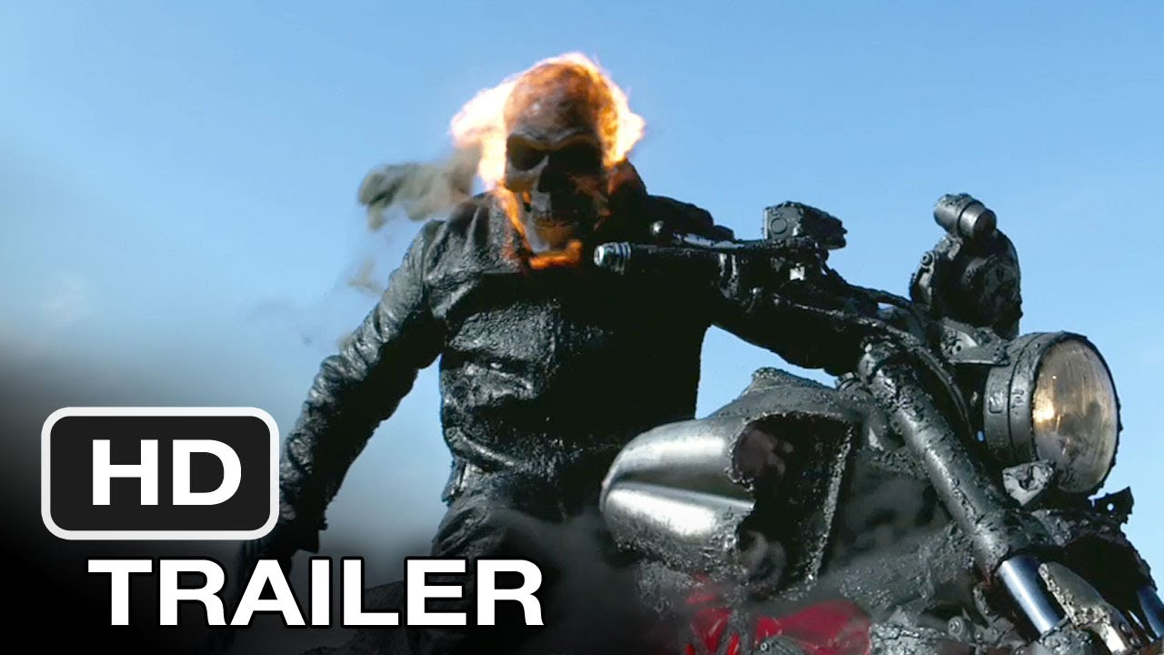 Ghost Rider Spirit Of Vengeance Movie Trailer 2012 Hd Youtube