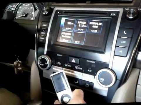 2012 camry radio no sound
