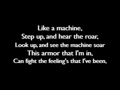 Thousand Foot Krutch - Like A Machine (Lyric Video)